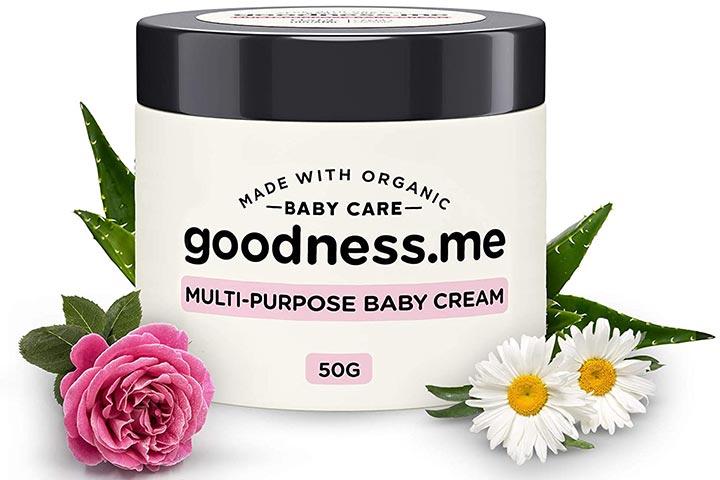 Goodnessme Certified Organic Multi-Purpose Baby Cream for Diaper Rash