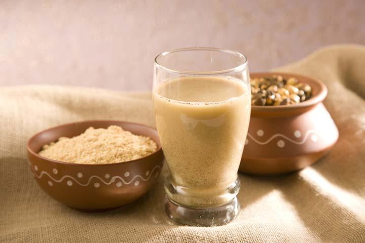 Gram flour milkshake