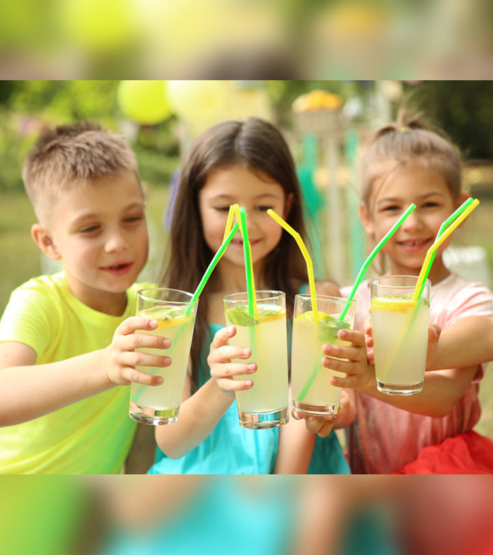 Healthy And Easy Lemonade Recipe For Kids
