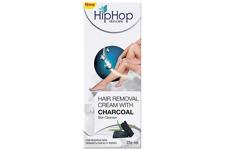 Hiphop Skin Care Hair Removal Cream With Charcoal