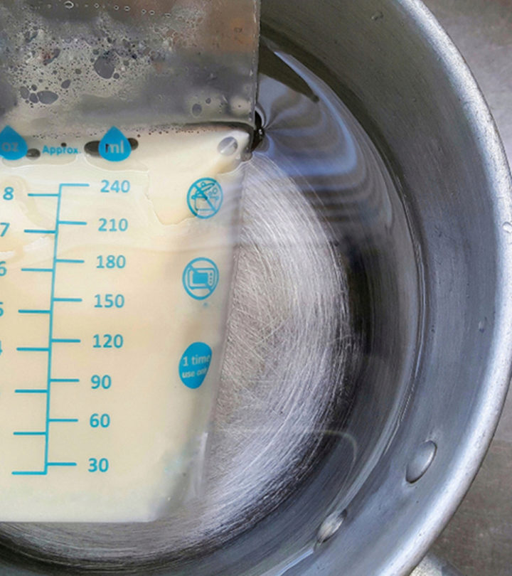 How To Warm Breast Milk Different Ways And Safety Tips