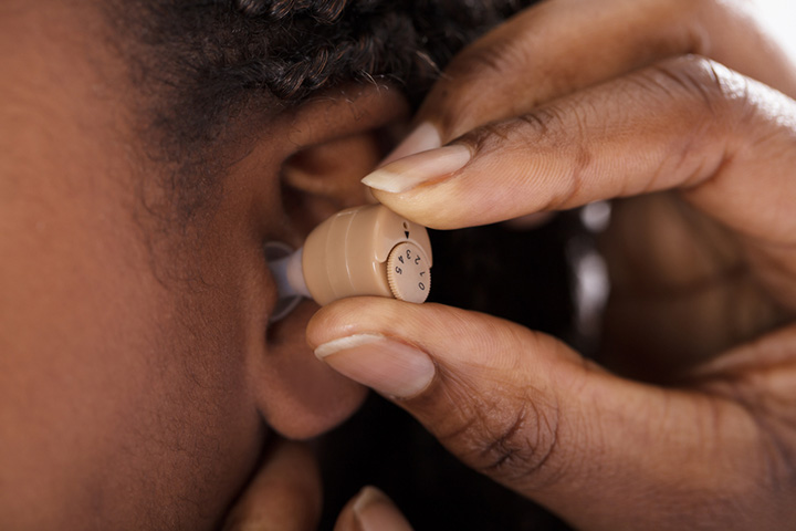 In-the-ear ITE hearing aids