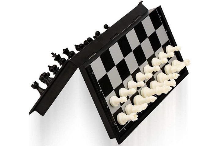 Jaynil Enterprise Folding Travel Chess Set