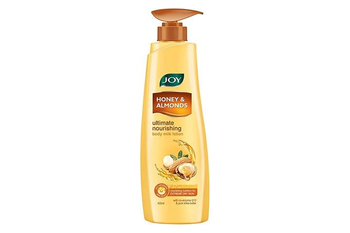 Joy Honey & Almonds Ultimate Nourishing Body Milk Lotion