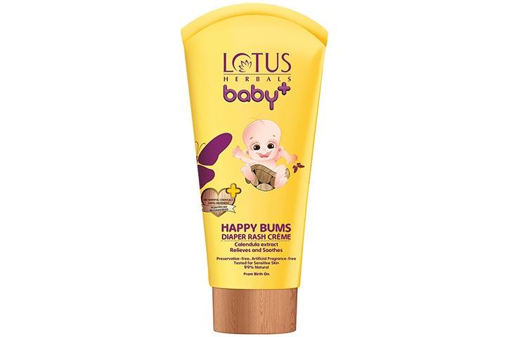 Lotus Herbals Baby+ Happy Bums Diaper Rash Crème