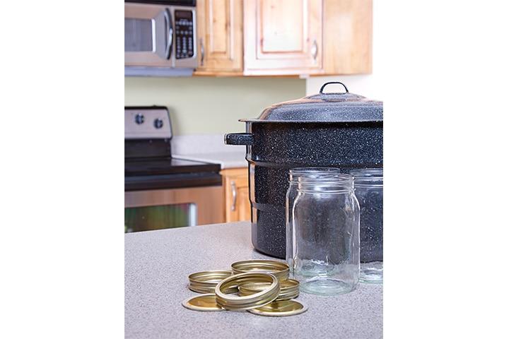 Mason jar lid bird feeder