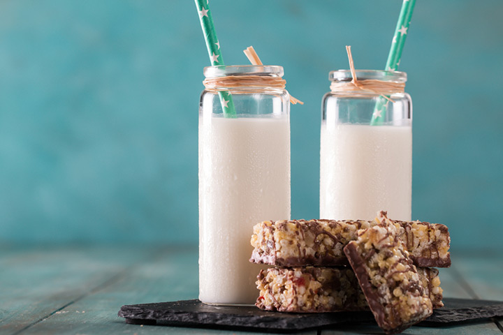 Milk and protein bars