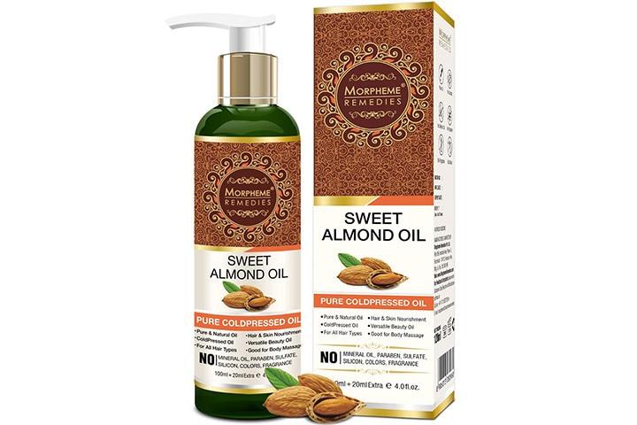 Morpheme Remedies Pure Sweet Almond Cold pressed Oil