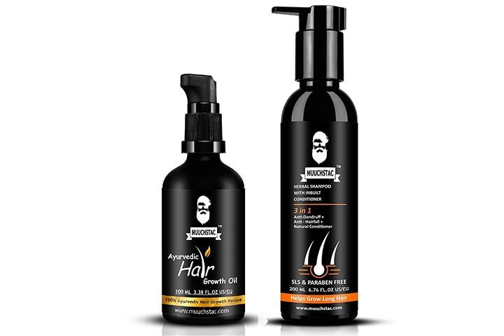 Muuchstac Ayurvedic Hair Growth Oil