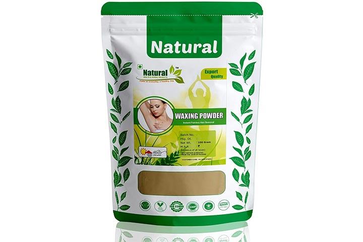 Natural Health And Herbal Products Waxing Powder