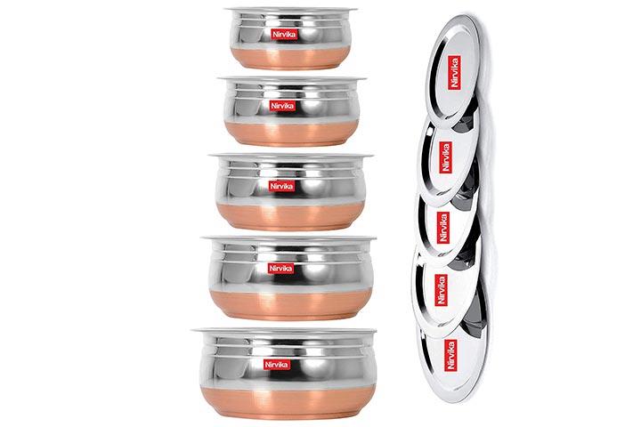 Nirvika Stainless Steel Cookware