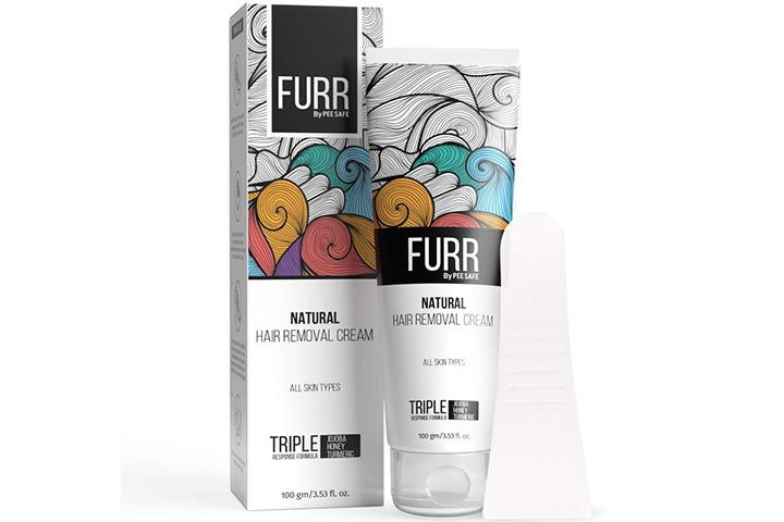 Peesafe Furr Natural Hair Removal Cream