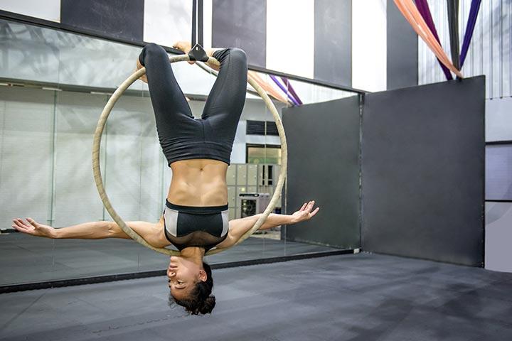Perform gymnastics