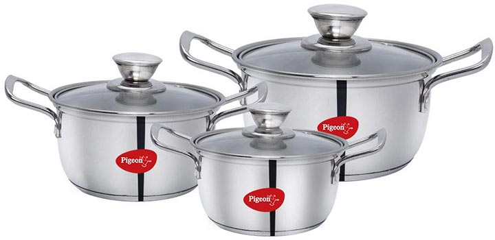 Pigeon Stainless Steel Cookware
