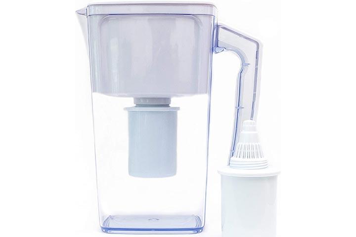 Plant Based Pros Alkaline Water Filter Pitcher - 2.5L