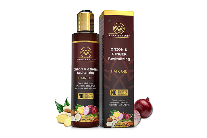 Pure Ethics Onion And Ginger Revitalizing Hair Oil
