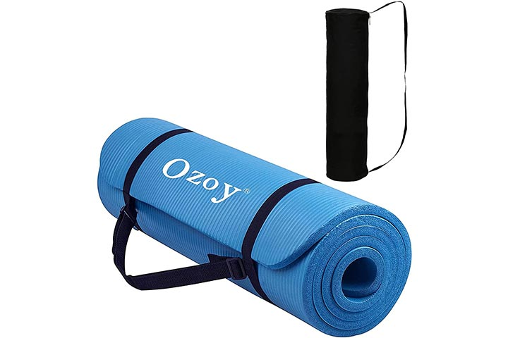 Sampri 13mm Extra Thick Yoga And Exercise Mat