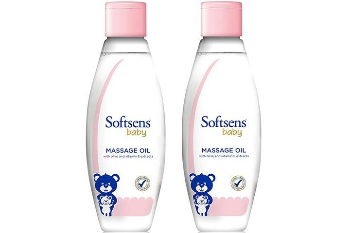 Softsens Baby Massage Oil