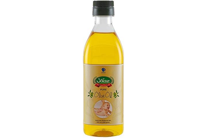 Solasz 100% Spanish Baby Massage Oil