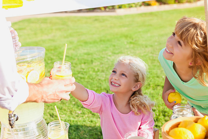 Start a free lemonade stand