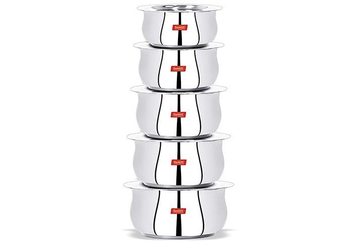 Sumeet Stainless Steel Cookware Set