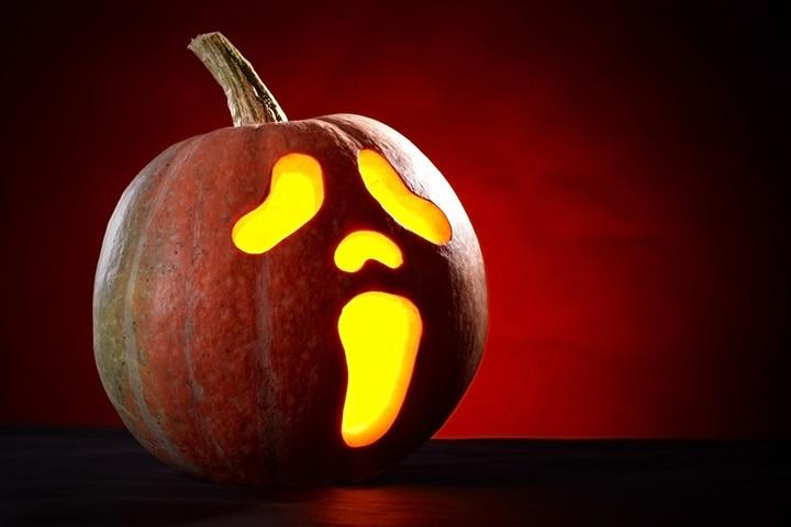 Surprised pumpkin