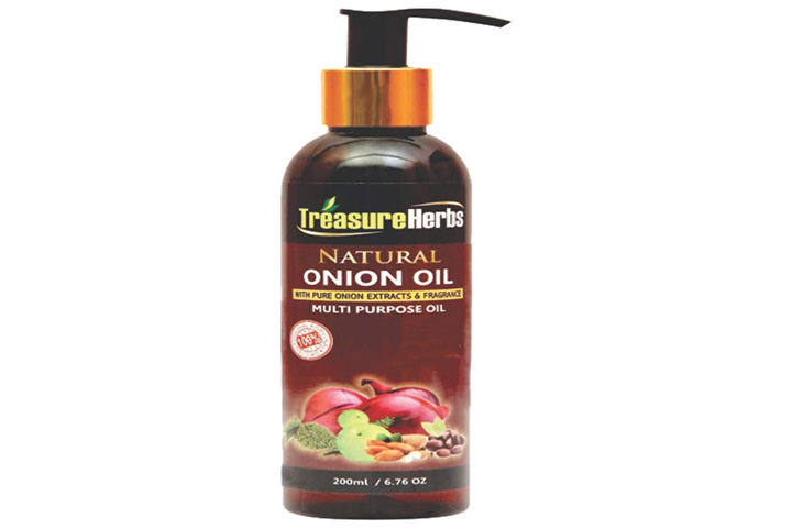 Treasure Herbs Natural Onion Oil