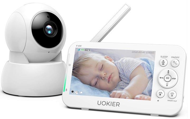 "UOKIER 5"" VideoBaby Monitor"
