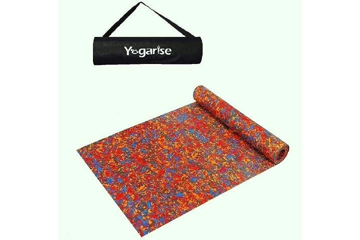 Yogarise Anti Skid And Durable Multi-Color Yoga Mat