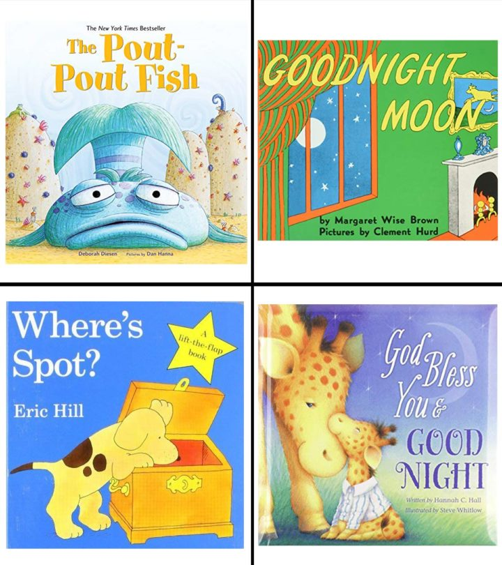 11 Best Books For One-Year-Olds In 2021