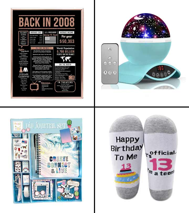 11 Best Gifts For 13-Year-Old Girls Of 2021
