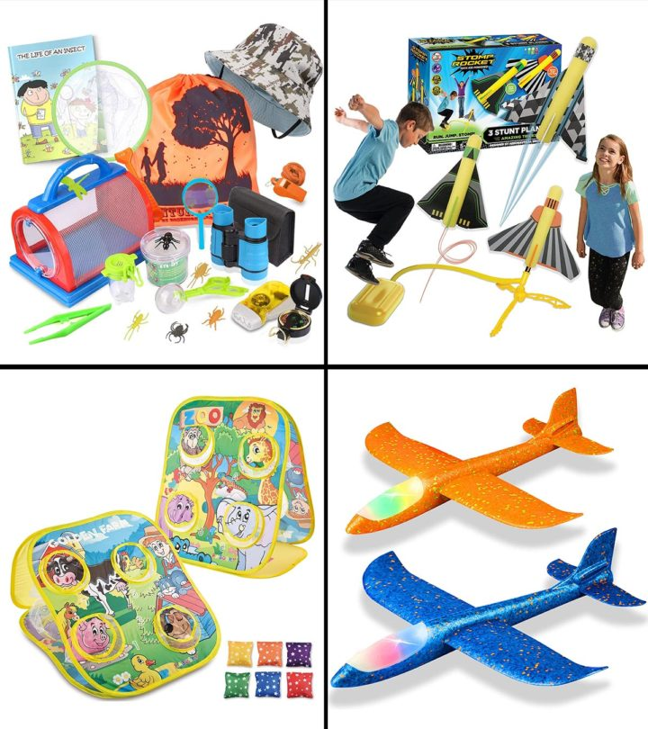 11 Best Outdoor Toys For Five-year-old Boys In 2021