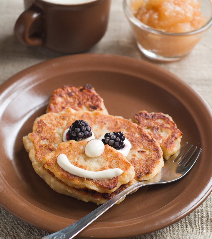 12 Healthy Pancake Recipes For Babies And Toddlers