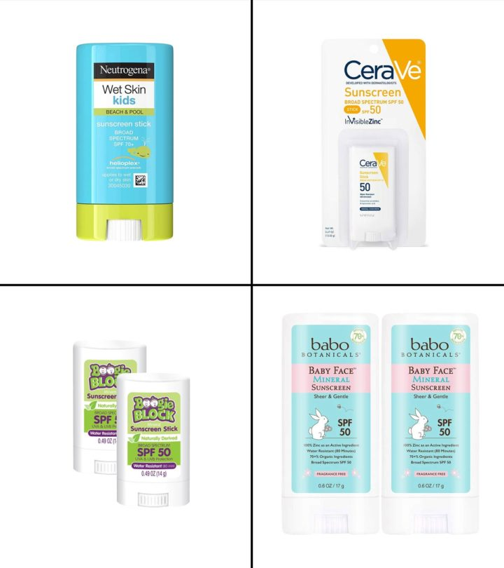 13 Best Sunscreen Stick For Kids And Babies In 2021-1