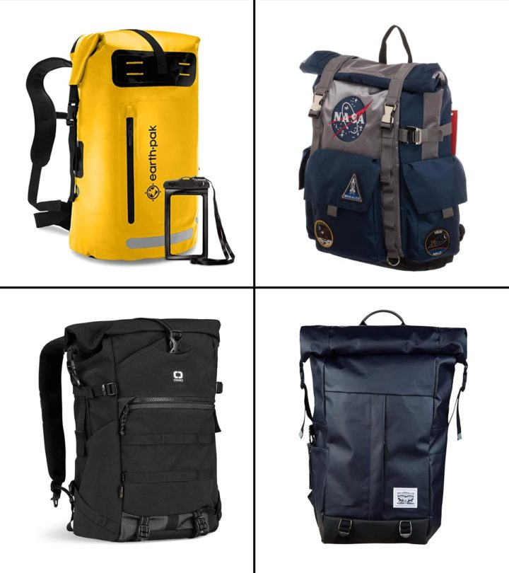 15 Best Rolltop Backpacks For Outdoors In 2021-1