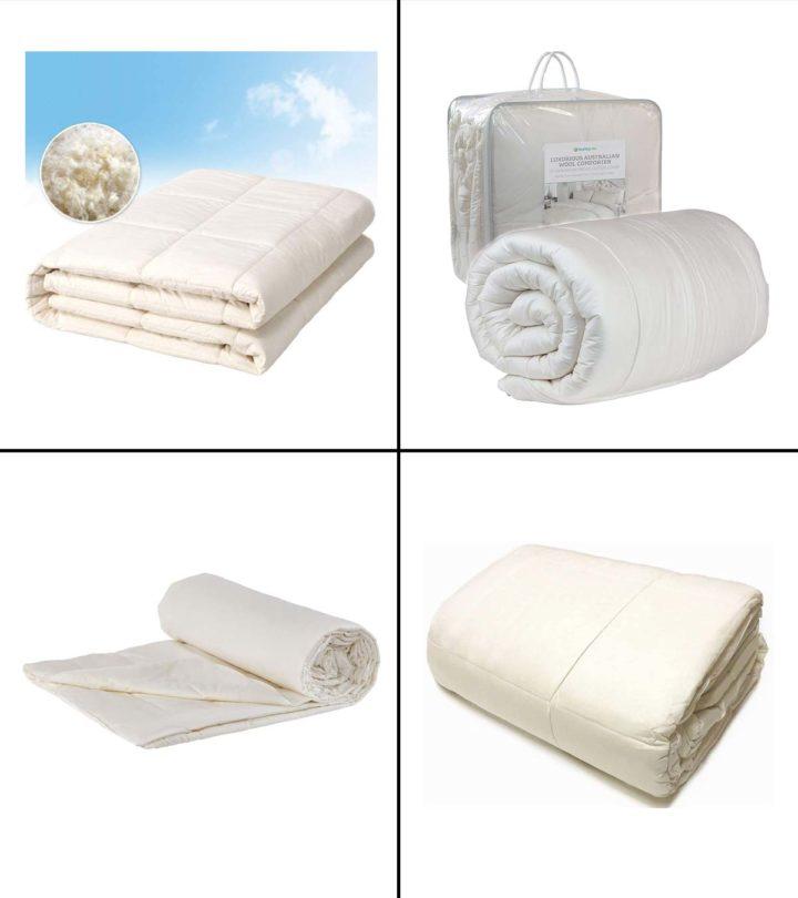 7 Best Wool Comforters For Good Sleep In 2021-1