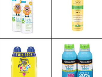 13 Best Spray Sunscreens For Kids In 2021