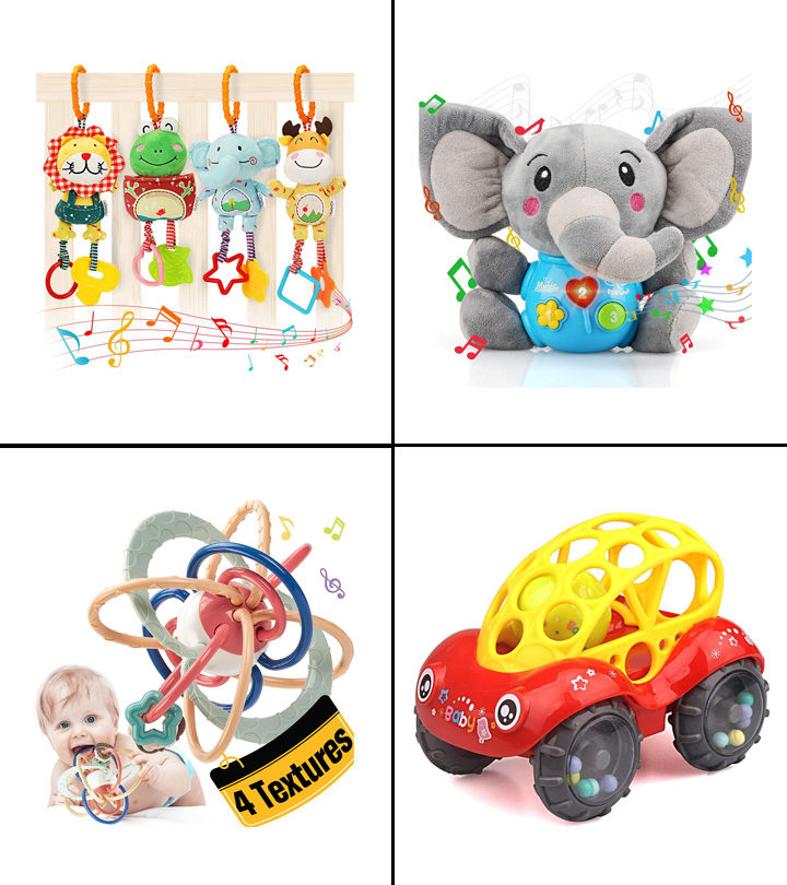 Best Toys For Babies 3 To 6 Months
