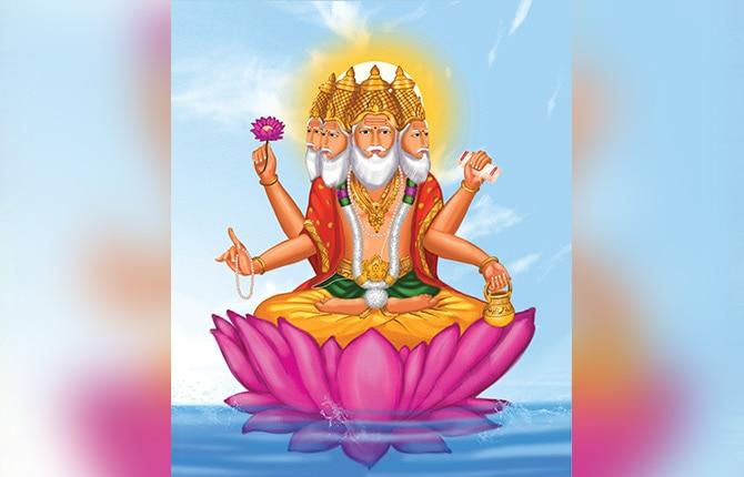 Brahma Ji Ki Na Puje Jane Ki Kahani