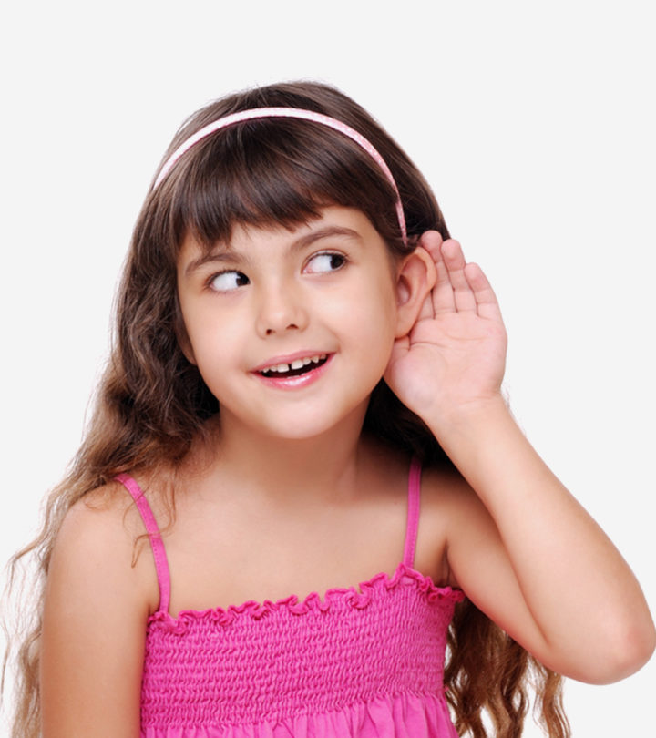 Child Hearing Problems in Hindi