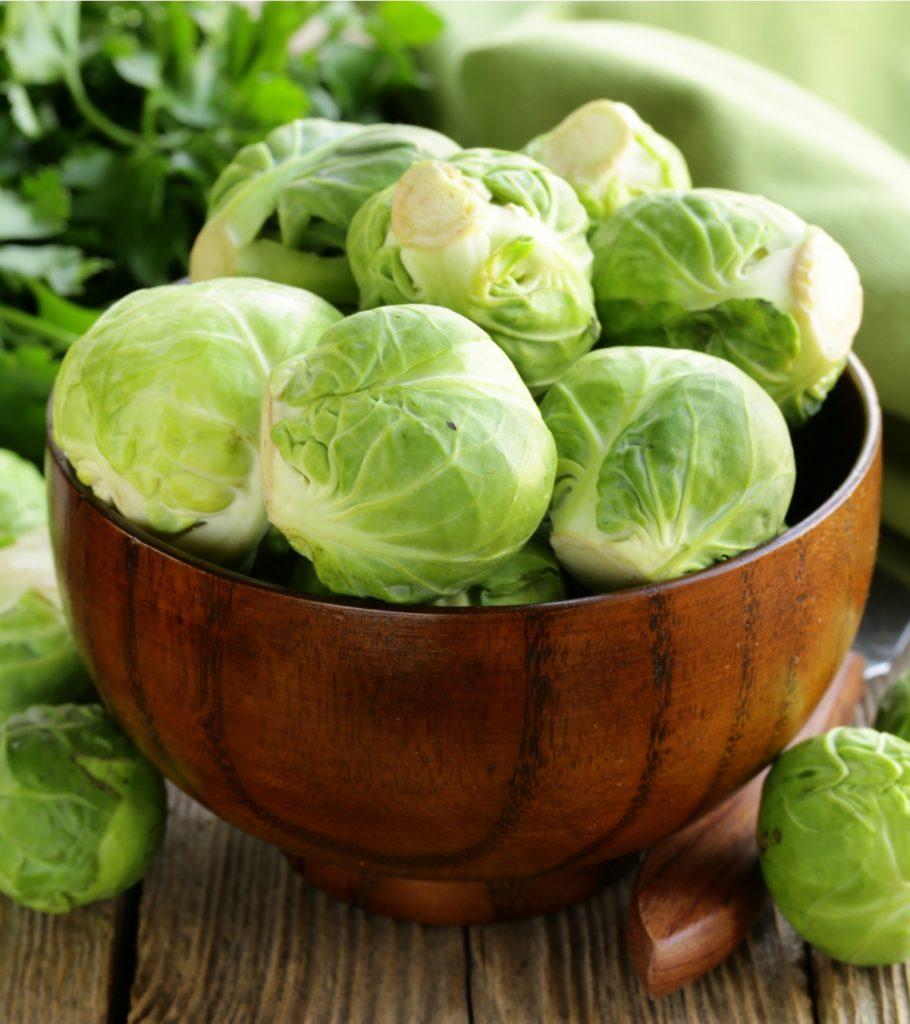 F Fresh Raw Organic Green Brussel Sprouts 166867856 910x1024