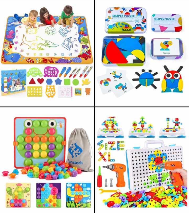 13 Best Educational Toys For 4 Year Olds