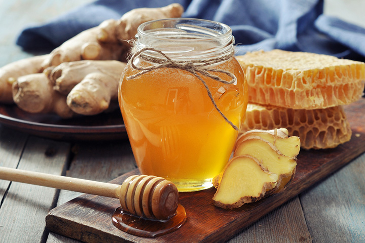 Honey and ginger syrup