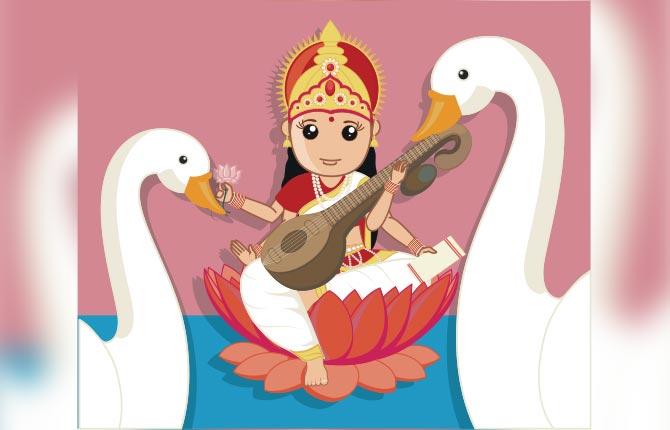Saraswati Puja Basant Panchmi Ki Katha