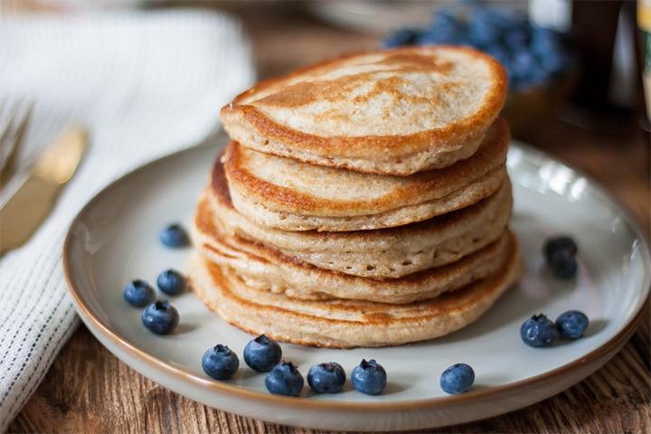 Simple whole-wheat pancake