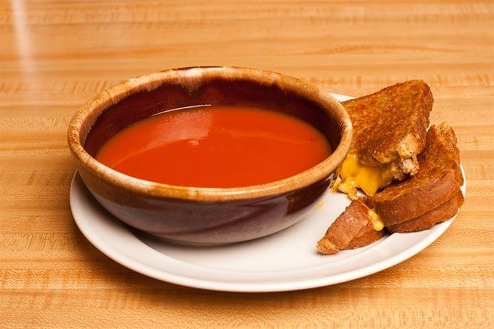 Tomato soup (8+ months)
