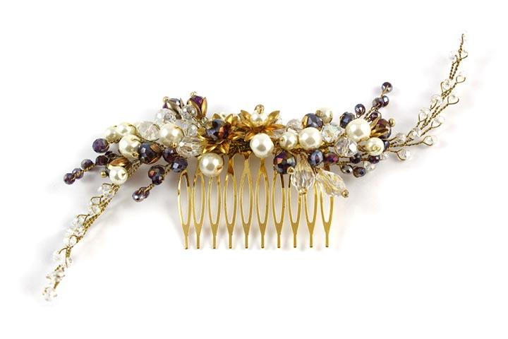 designer hair clip