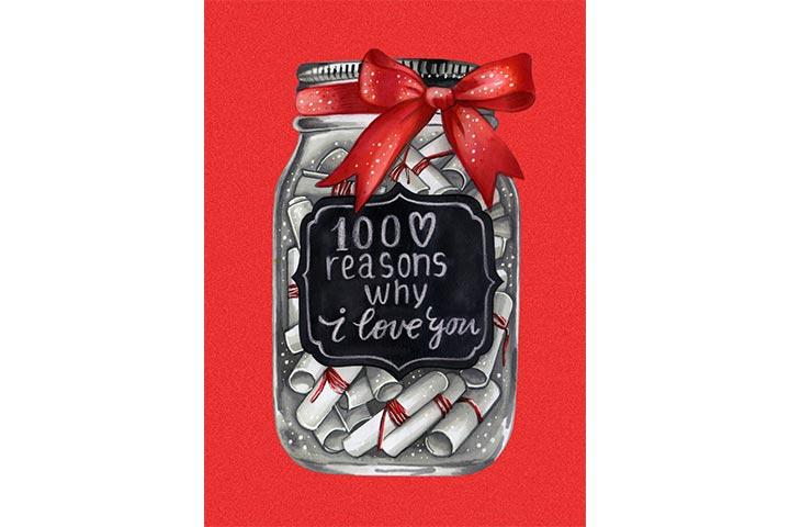 love letter jar
