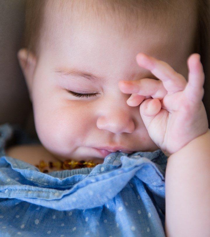 छोटे बच्चों का आंखें रगड़ना_ कारण व रोकने के टिप्स _ Baby Rubbing Eyes In Hindi_