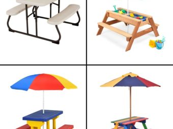 11 Best Kids Picnic Tables For Kids In 2021